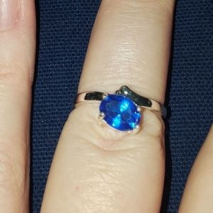 Jewelry - simple blue Sapphire